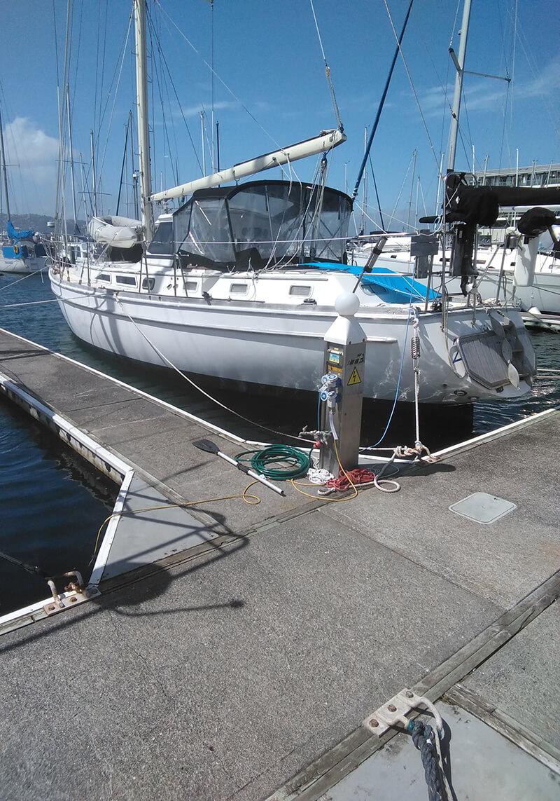 Chaffers Marina Wellington Pier C34